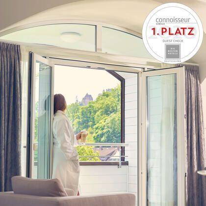"""Der Rosenpark belegt den 1. Platz der Kategorie """"Guest Check"""" beim Voting des Reisemagazins """"Connoisseur Circle"""