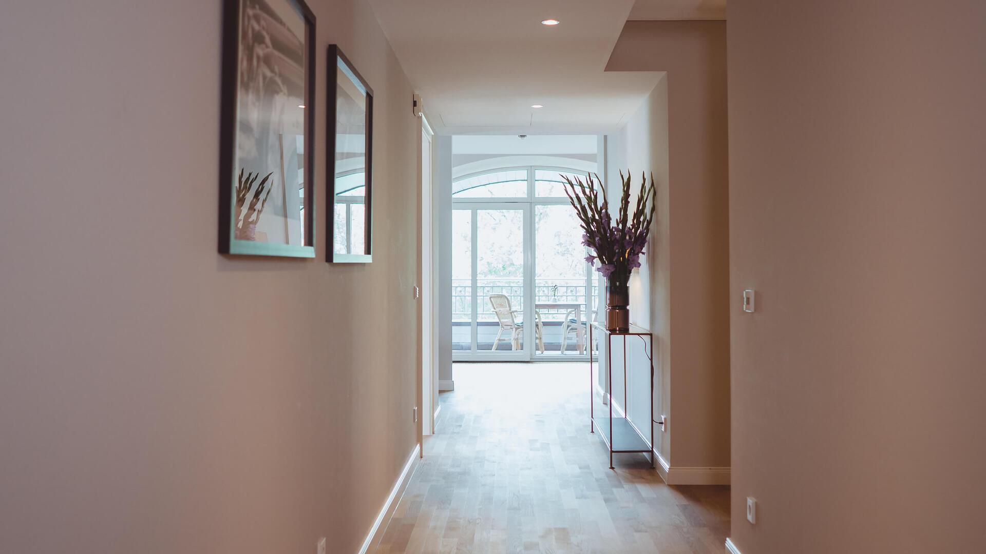 Deluxe Apartment Suite Flur
