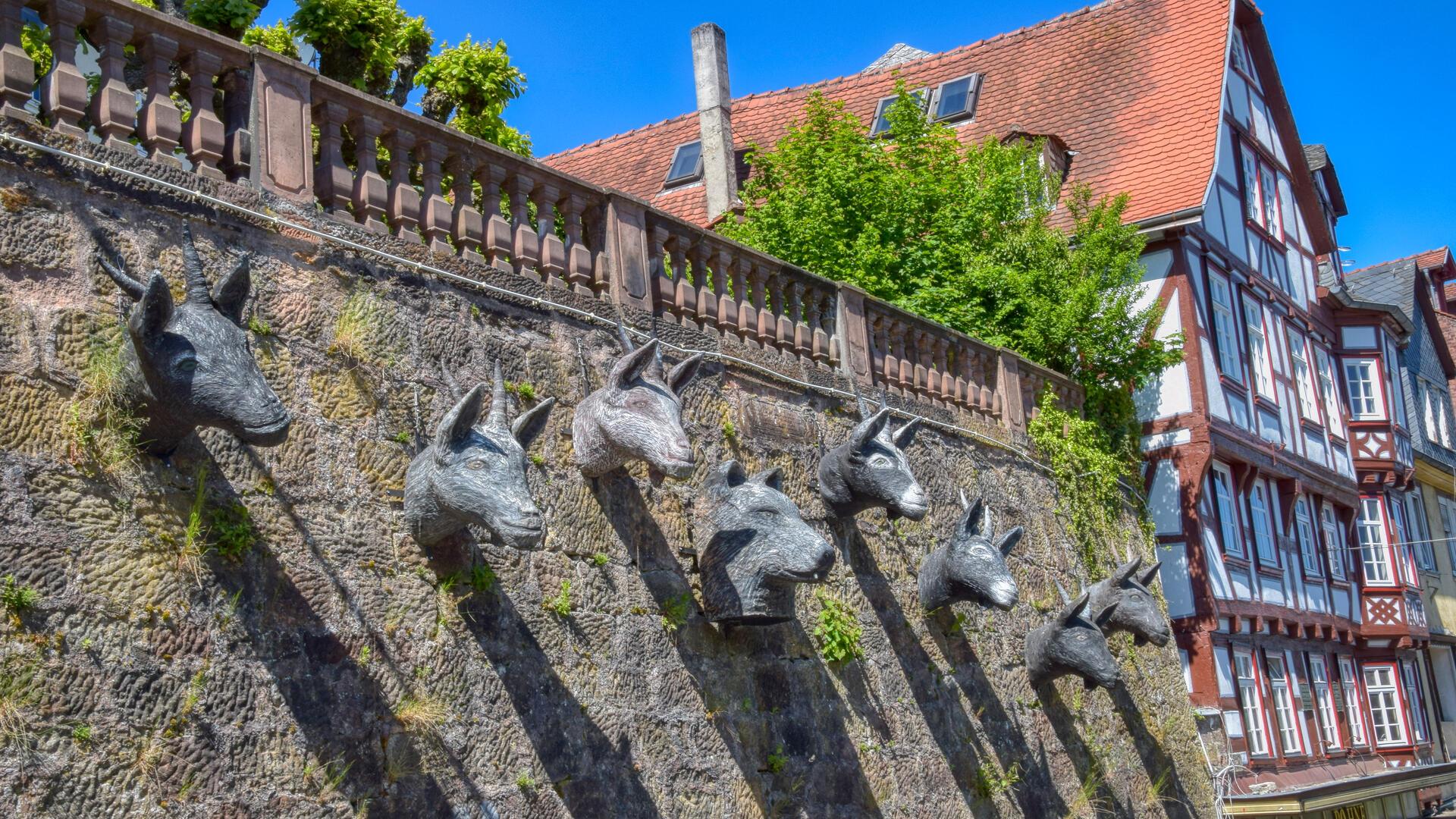 Der Grimm-Dich-Pfad in Marburg