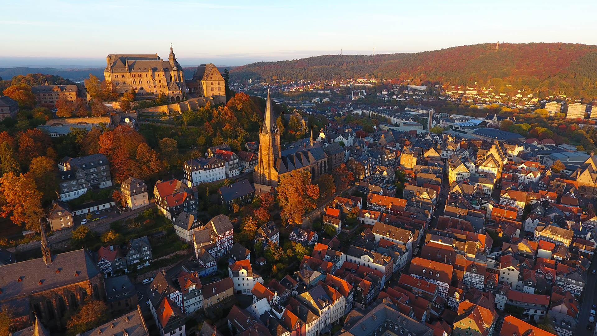 Historische Altstadt Marburg an der Lahn
