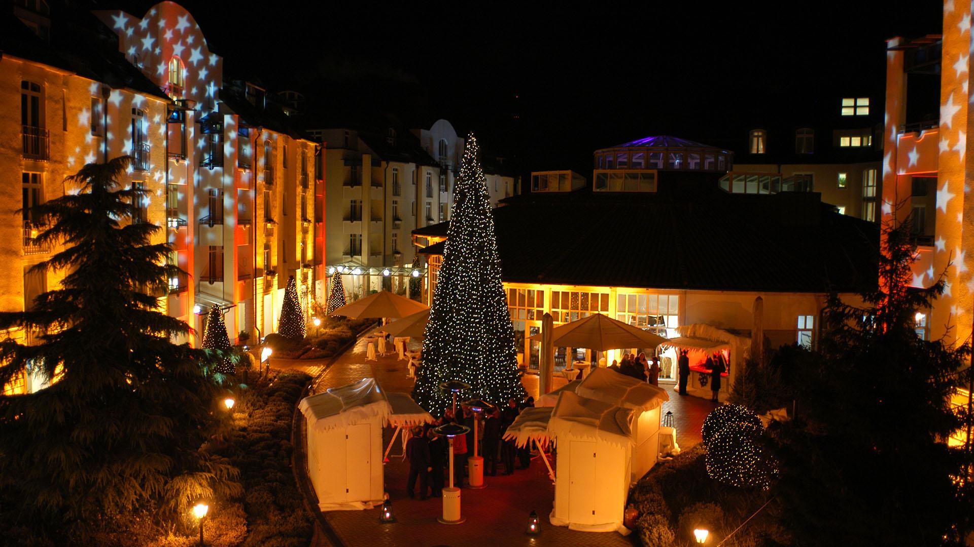 Weihnachten im Hotel VILA VITA Rosenpark in Marburg